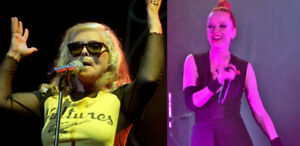 Cover BLONDIE & GARBAGE with kisses from 8th ROW FLOORS