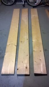 Wood or Lumber pieces