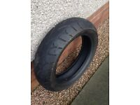 Motorcycle tyre from Harley Davidson. 180/60/17