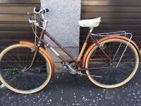 Ladies Vintage Raleigh Bicycle