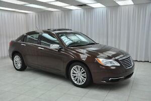 2013 Chrysler 200 3.6L SEDAN w/ BLUETOOTH, HEATED SEATS, CLIMATE
