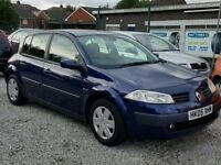 05 RENAULT MEGANE 1.6 5 DOOR - GOOD RUNNER - PX WELCOME