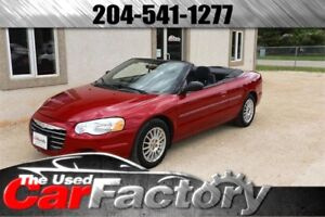 2005 Chrysler Sebring Conv LOW KM