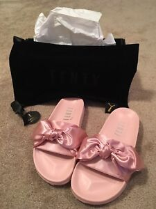 New Fenty slides - pink