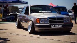 1991 Mercedes Benz 300e w124 - Right Hand Drive RARE