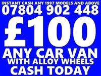 CASH FOR CARS NON RUNNERS SCRAP NO MOT DAMAGED BEST