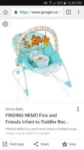 looking for finding nemo infant rocker