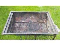 Drum BBQ and stand plus all grids. Professionally made