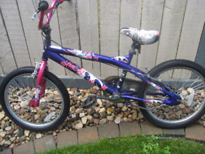 Bent BMX with 20 inch tires