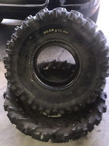 Two new Kenda bear claw 25x10-11 tires