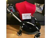 Bugaboo Bee3 with Bee5 upgrades immaculate