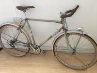 Hasty retro town bike