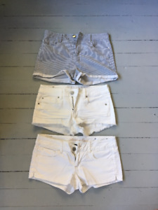 Variety of Shorts and Jeans For Sale