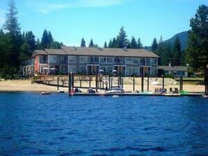 Shuswap Lake - 4br Furnished Waterfront Townhome for Rent