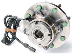 FRONT WHEEL HUB ASSEMBLY. MOOG-515020. 99-04 Ford Super Duty
