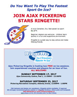 Want to Play the Fastest Sport on Ice? Come Try Ringette!!!