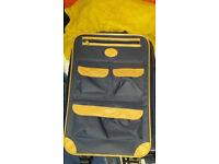 Small 2 wheel unused luggage case