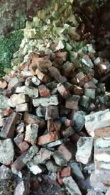 Free broken Bricks / rubble