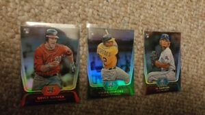 Baseball rookie cards harper darvish and more