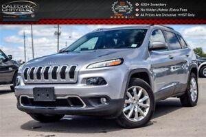 2016 Jeep Cherokee Limited|4x4|Navi|Pano Sunroof|Backup Cam|Blue