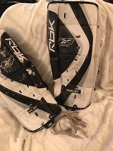 Skates & Hockey Equipment & Goalie Pads