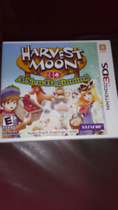Harvest Moon 3DS - A new beinning