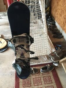 Kids Snowboard, Boots, and Goggles  $150 obo
