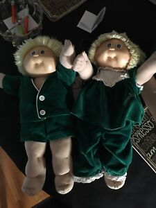 Cabbage patch twins