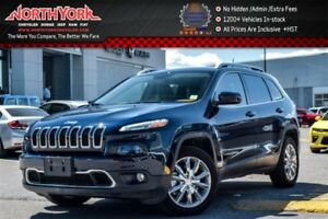 2016 Jeep Cherokee Limited|CleanCarProof|Nav.|Leather|Backup_Cam