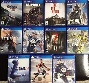 PS4 11 Game Bundle