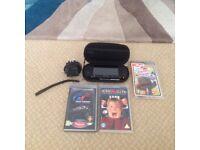 PSP Sony playstation potable black