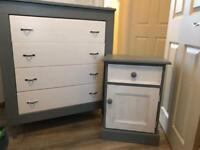 Drawer and cabinet set