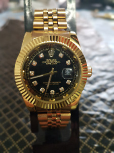 Rolex Datejust Gold/Black Brand New High Quality