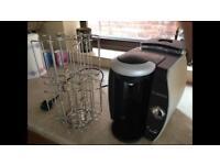 Tassimo coffee machine and pod holder - House Clearance