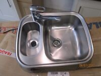 Blanco stainless steel 1.5 bowlsink and Hansgrohe tap