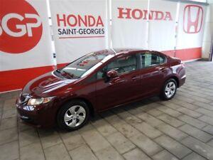 2013 Honda Civic Lx TOUT ÉQUIPÉ BAS KILO !!!