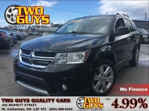 2014 Dodge Journey R/T AWD DVD NAV LEATHER 7PASS CHROME RIMS