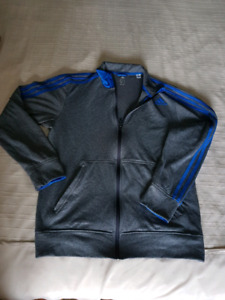 Adidas climawarm zipper hoodie men's large