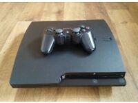 PlayStation 3 PS3 120gb black slimline