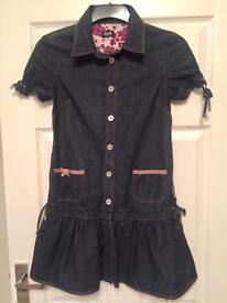 D&G Denim Dress Age 10