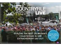 2 x tickets to country file live choose any one day at Blenheim Palace