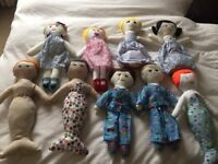 Dolls hand made