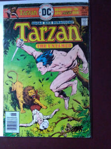TARZAN, THE UNTAMED DC # 250 - JUNE 1976