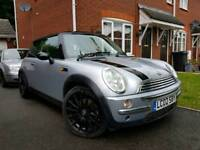 2002 02 MINI COOPER FULLY LOADED,SAT NAV,GLASS ROOF,HEATED LEATHER