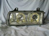 BMW E36 HELLA HEADLIGHTS CHROME QUICK SALE