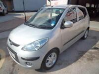 HYUNDAI i10 1.2 AUTOMATIC COMFORT 5 DOOR NIL DEPOSIT FINANCE WARRANTY