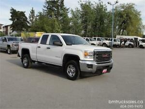 2015 GMC SIERRA 2500HD DOUBLE CAB SHORT BOX 4X4