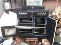 for sale Belling range cooker as new gas hob electric ovens £750 ono