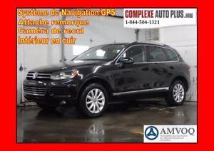 2013 Volkswagen Touareg  V6 Comfortline 4Motion *Navi/GPS, Cuir