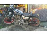 Hn125 custom bobber learner legal motorbike
